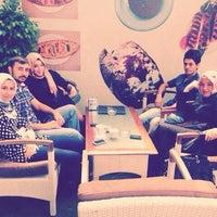 Photo taken at Ay Isıgı Nargıle Cafe by Ömer on 9/2/2013