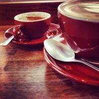 Photo taken at Bradbury's Coffee by g on 5/14/2013