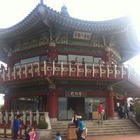Photo taken at Bukak Palgakjeong by Jeehye K. on 10/21/2012