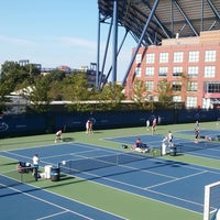 Photo taken at Practice Courts (1-5) - USTA Billie Jean King National Tennis Center by Yerelyn C. on 8/28/2016