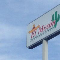 Photo taken at El Mezon Mexican Restaurant by Matthew S. on 2/9/2013