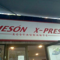 Photo taken at Mesón X-Press by javier j. on 2/14/2013