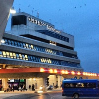 Photo taken at Berlin Tegel Otto Lilienthal Airport (TXL) by tschi on 3/7/2013