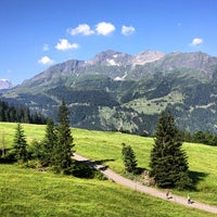 Photo taken at Wengen by tschi on 7/24/2013