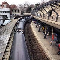 Photo taken at Bahnhof Zürich Stadelhofen by tschi on 2/17/2013