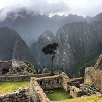 Photo taken at Templo de las Tres Ventanas by tschi on 3/7/2014