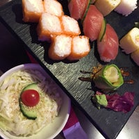 Photo taken at Planet Sushi by Omar E. on 12/12/2015