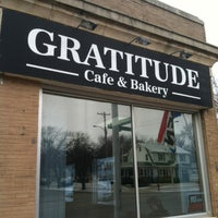 Photo taken at Gratitude Cafe & Bakery by Angela on 2/16/2013