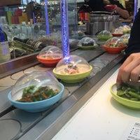Photo taken at YO! Sushi by Robin D. on 10/2/2016