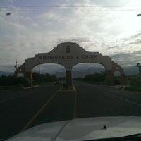 Photo taken at Choix Sinaloa by Jesus Osvaldo C. on 8/12/2013