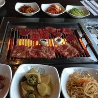 Photo taken at Sariwon Korean BBQ Restaurant 사리원 by Carmen Y. on 9/24/2013