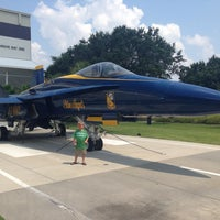 Photo taken at National Naval Aviation Museum by Trey N. on 8/4/2013