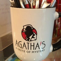 Photo taken at Agatha's: A Taste Of Mystery by Kevin T. on 1/15/2013
