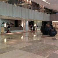 Photo taken at New World Makati Hotel by Vipob J. on 1/27/2013