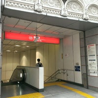Photo taken at TX Asakusa Station by N K. on 7/18/2014
