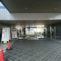 Photo taken at 燕三条地場産業振興センター メッセピア by N K. on 2/28/2015