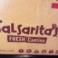 Photo taken at Salsarita's Fresh Mexican Grill by David E. on 11/6/2013