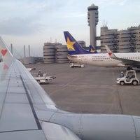 Photo taken at 羽田空港管制塔 by Yoichi K. on 4/25/2013