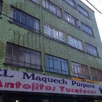 Photo taken at El Maquech Púrpura by Joak R. on 2/10/2013