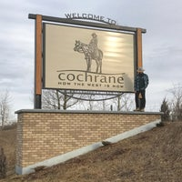 Photo taken at Cochrane, Alberta by David D. on 1/19/2017