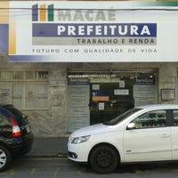 Photo taken at Secretaria Municipal de Trabalho e Renda by Jó V. on 8/19/2013