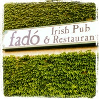 Photo taken at Fado Irish Pub & Restaurant by Marcus D. on 6/9/2012
