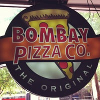 Photo taken at Bombay Pizza Co. by Natalie S. on 6/9/2012
