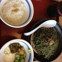 Photo taken at 8番らーめん 大徳店 by Rita on 5/19/2012