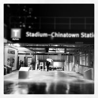 Photo taken at Stadium - Chinatown SkyTrain Station by Hisa W. on 2/21/2012