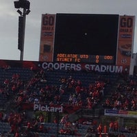 Photo taken at Cooper's Stadium by Dian A. on 1/3/2014