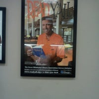 Photo taken at Midwest City Library by Tenikia P. on 8/29/2013