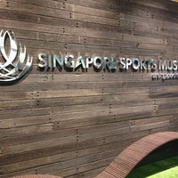 Photo taken at Singapore Sports Museum by Graeme O. on 10/22/2014