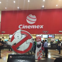 Photo taken at Cinemex Premium Metepec by Víctor Hugo P. on 5/29/2016