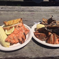 Photo taken at World's Largest Salmon BBQ by Beth H. on 7/5/2014