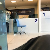 Photo taken at QNB Finansbank by Caner U. on 10/31/2017