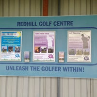 Photo taken at Redhill Golf Centre by gxconnect on 12/10/2013