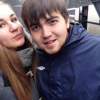 Photo taken at Автобус из Зеркального😢 by Даша Харжевская on 11/9/2014