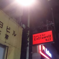 Photo taken at Cafe&Bar Extrawelt by HARA on 7/29/2016