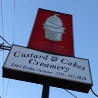 Photo taken at Custard & Cakes Creamery by Jocelyn B. on 6/1/2013