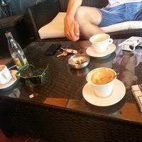 Photo taken at Caffe Brânduşean by Zoe H. on 8/19/2013