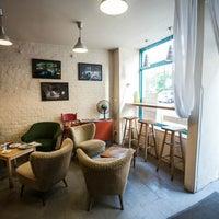 Das Foto wurde bei Cafe Rozrusznik von Wrocław od kuchni am 9/14/2013 aufgenommen
