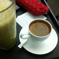 Photo taken at Cafe Comma by JDY on 2/3/2013