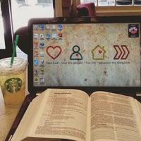 Photo taken at Starbucks by Amy B. on 5/25/2015