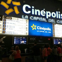 Photo taken at Cinépolis by Allan S. on 9/1/2013