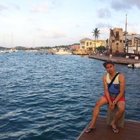 Photo taken at Christiansted Boardwalk by Chester M. on 10/13/2014