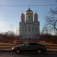 Photo taken at Маршрутка № К-299 by Kathrine K. on 4/10/2014