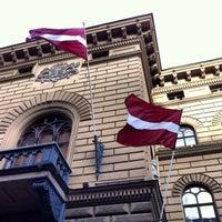 Photo taken at Latvijas Republikas Saeima  |  Saeima of the Republic of Latvia by DN on 12/10/2013