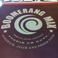 Photo taken at Boomerang Mix by Leandra S. on 1/30/2013