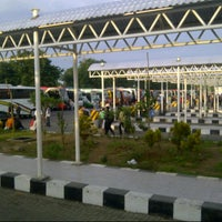 Photo taken at Terminal Purabaya (Bungurasih) by nana w. on 4/27/2013