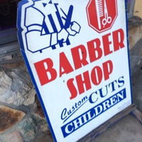 Photo taken at Victors Barbershop by Ralph P. on 11/8/2013